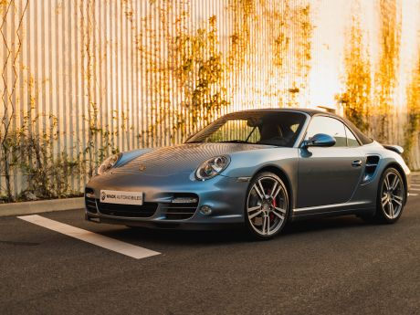 Shooting 997 Turbo PDK Cabrio