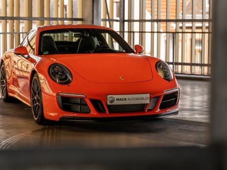 Shooting 991.2 Carrera GTS Orange